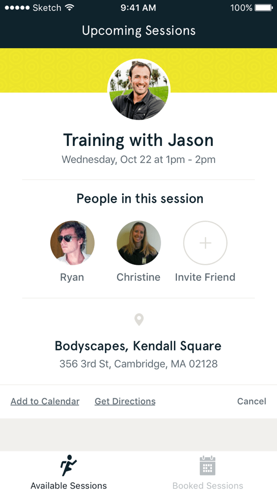 Sf upcoming sessions